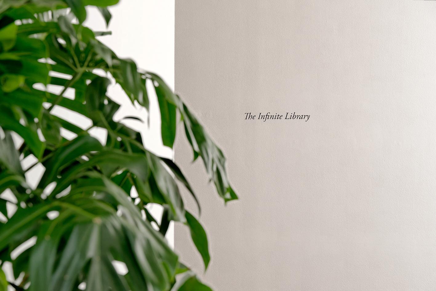 The Infinite Library - Villa du Parc