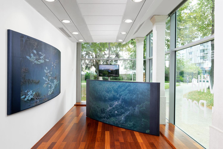La tela, il legno, le pareti, i colori - Villa du Parc