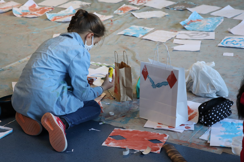 Ateliers peinture avec Julie Kieffer - Villa du Parc